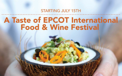Modified EPCOT International Food & Wine Festival Starts July 15th