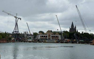 Construction Update: Jurassic Park Coaster at Universal Orlando Islands of Adventure