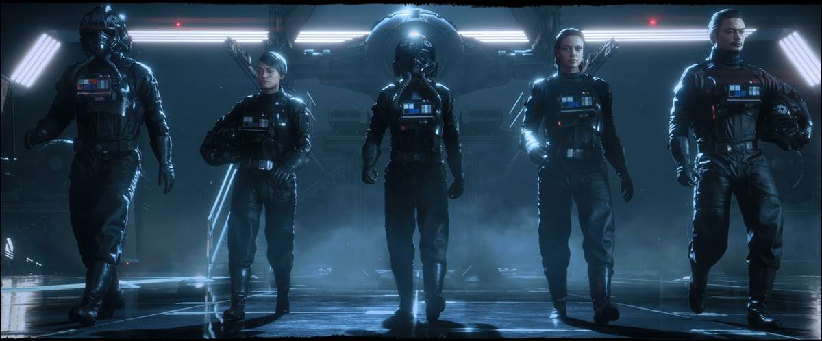 "Video - New Gameplay Trailer, More Details for ""Star Wars: Squadrons"" Released During EA Play 2020"