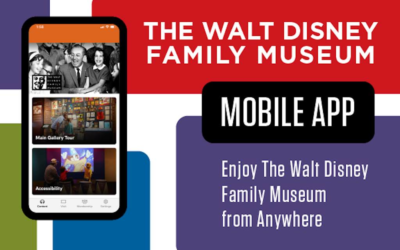 Walt Disney Family Museum Launches App With Virtual Tour, Museum Highlights and More