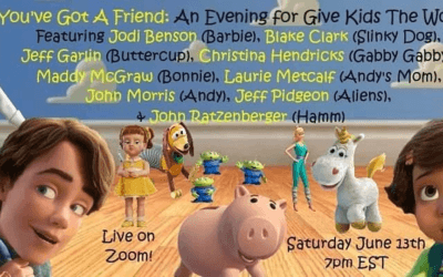 """You've Got a Friend: An Evening For Give Kids The World"" Virtual Charity Event Takes Place Saturday, June 13th"