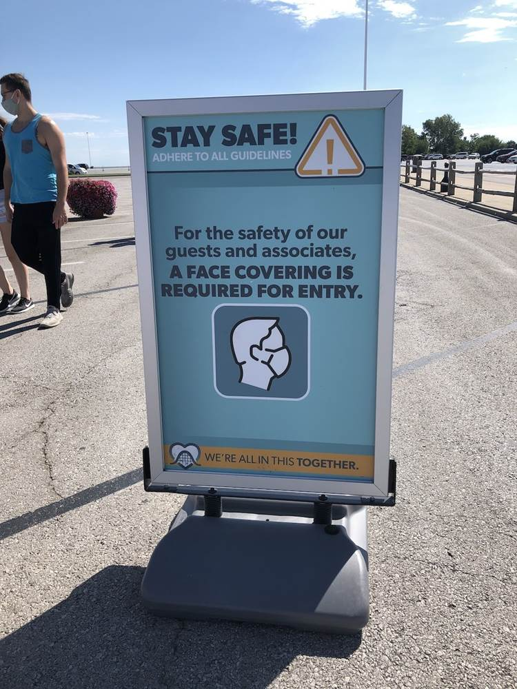 Masks are required to visit Cedar Point