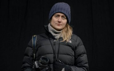 """Photojournalist Anastasia Taylor-Lind Shares How She Photographs War in an Ethical Way on """"Overheard at National Geographic"""""""