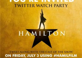 Cast of Hamilton to Participate in Twitter Watch Party