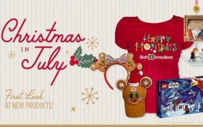 Disney Releases Collection of Holiday Merchandise in Celebration of Christmas in July