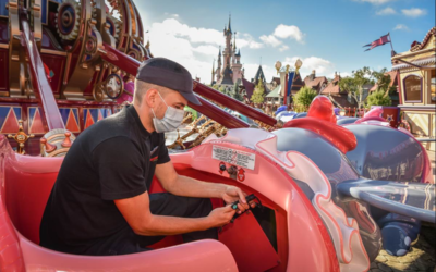 Disneyland Paris Releases Seven Photos of Cast Members Preparing the Park for July 15th Reopening