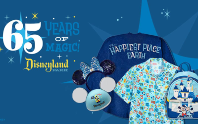 Disneyland Releases First Look at New 65th Anniversary Merchandise