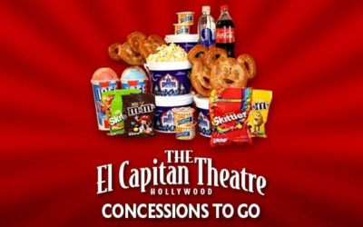 Get Your Movie Night Snacks at El Capitan Theater with New Concessions to Go Program