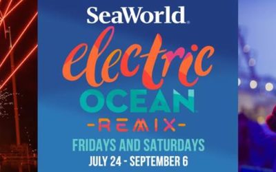 SeaWorld Orlando Heats Up Summer Nights with Electric Ocean Remix Events