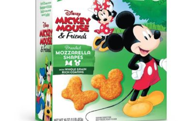 New Mickey Mouse Mozzarella Shapes Hitting Freezer Aisles from Farm Rich