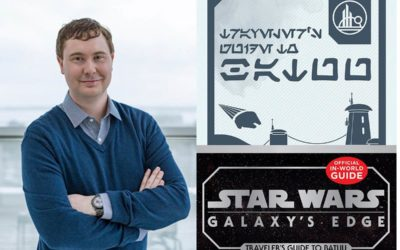 "Interview - Author Cole Horton Discusses ""Star Wars: Galaxy's Edge - Traveler's Guide to Batuu"" and More"