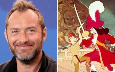 """Jude Law Reportedly in Talks to Play Captain Hook in """"Peter Pan & Wendy"""""""