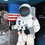 Life-Size LEGO Astronaut Model Moves to Permanent Home at LEGOLAND Florida Resort