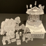Make Your Own Paper King Arthur Carrousel as Part of Disney Paper Parks Series
