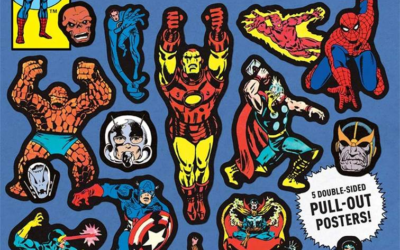 "Book Review: ""Marvel Classic Sticker Book"""