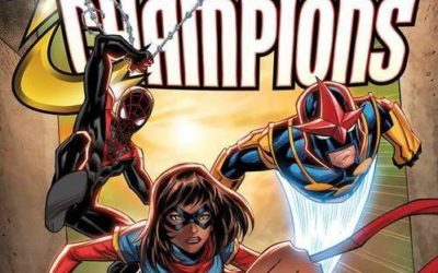 "Marvel Comics' ""Champions #1"" Coming to Comic Shops This October"