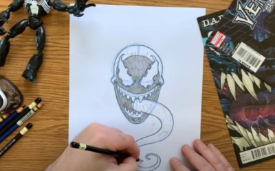 """Marvel HQ Comic-Con@Home Panel Features """"Marvel Draw: Venom,"""" a LEGO Build and More"""