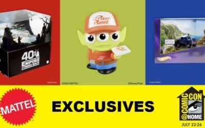 Mattel Releasing Star Wars, Marvel, and Toy Story Comic-Con Exclusives on July 23rd