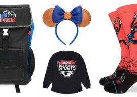 Score Some Sporty Looks with New NBA and ESPN Merchandise on shopDisney
