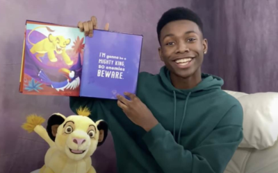 """Niles Fitch Reads a """"Lion King"""" Book on Disney's YouTube Channel"""