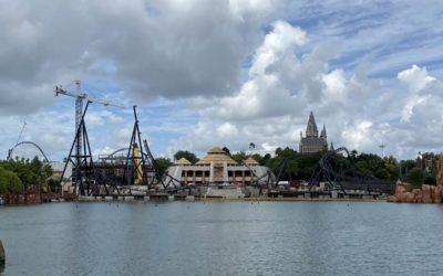 Photo Construction Update: Unannounced Jurassic World Coaster at Universal's Islands of Adventure