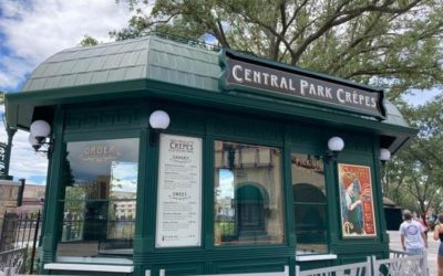 Photos - Central Park Crepes Coming to Universal Studios Florida