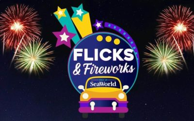 "SeaWorld Orlando Announces ""Flicks & Fireworks"" for Upcoming Weekend"