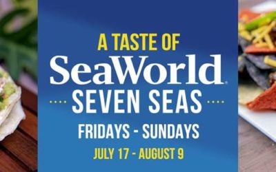 SeaWorld Orlando to Offer A Taste of Seven Seas Food Festival on Select Weekends this Summer