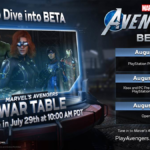 """Second War Table Preview Event for """"Marvel's Avengers"""" Video Game Announced Plus Beta Release Dates"""