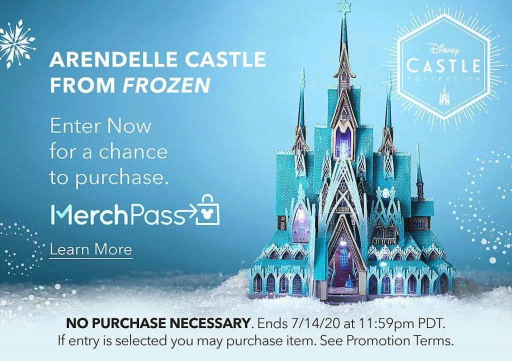 Shopdisney Introduces Merchpass Drawings For Disney Castle Collection Series 2 Release