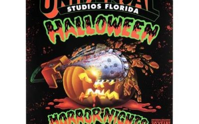 Special 30th Anniversary Halloween Horror Nights Merchandise Available Online at The Universal Store
