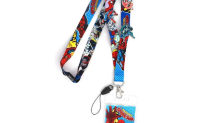 Spider-Man Lanyard and Pin Set Available for Pre-Order on Entertainment Earth