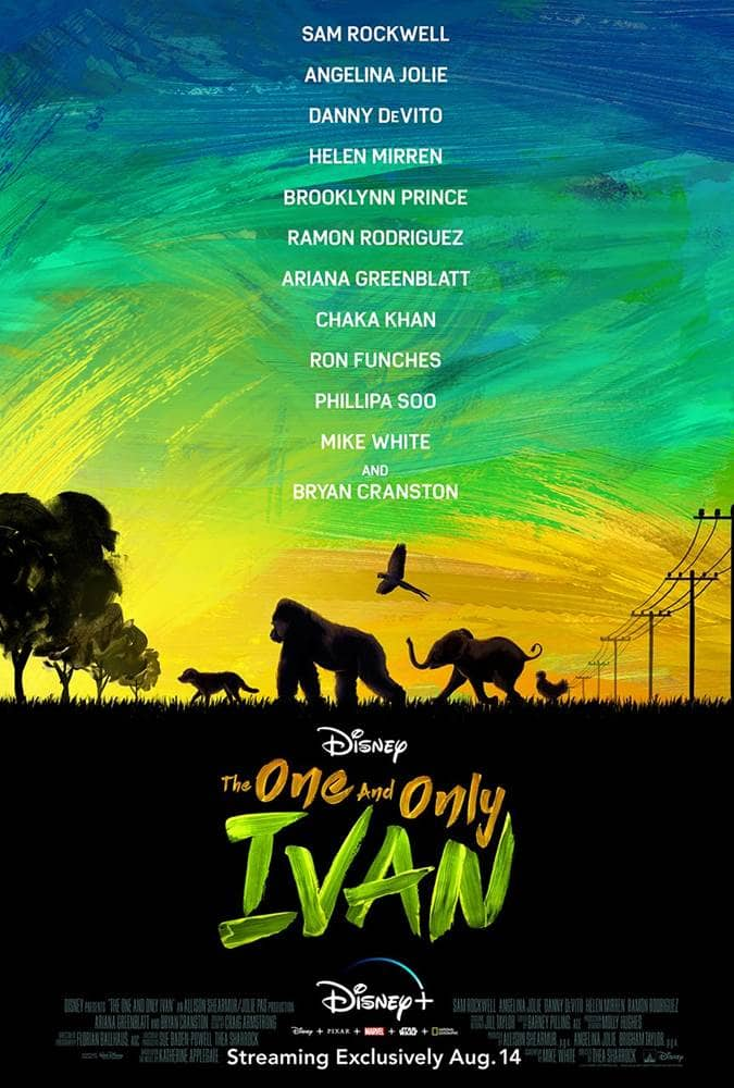 "Disney Releases First Trailer, Poster for ""The One and Only Ivan"""