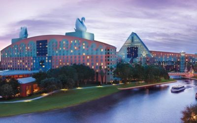 The Walt Disney World Swan and Dolphin Resort Sets Reopening Date for Late July