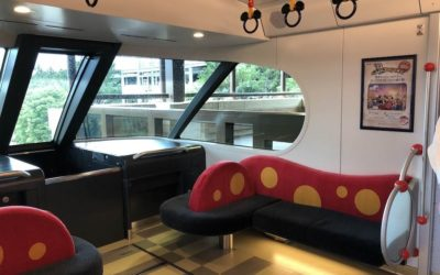 Step Inside the New Monorail Vehicle at Tokyo Disney Resort