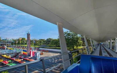 Tomorrowland Transit Authority Peoplemover Not Listed as An Available Attraction For Magic Kingdom on My Disney Experience App