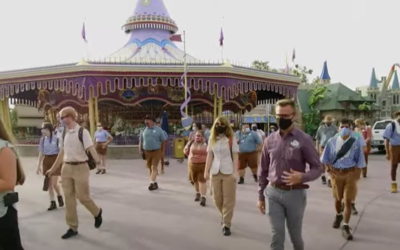 Welcome Home! Walt Disney World Parks Cast Members Happily Return to Work