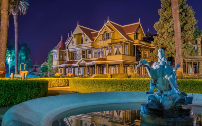 """Winchester Mystery House Launches New Outdoor Nighttime """"Walk with Spirits Tour"""""""