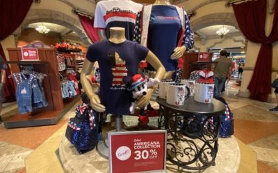 Hooray for Sales! Walt Disney World Offering 30% Savings on Select Summer Collections