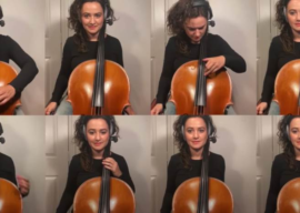 """Cellist Samara Ginsberg Impressively Recreates """"Imperial March,"""" """"DuckTales"""" Theme and More"""