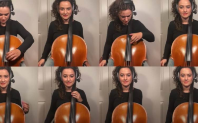 "Cellist Samara Ginsberg Impressively Recreates ""Imperial March,"" ""DuckTales"" Theme and More"