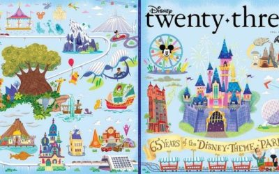 "D23 Celebrates 65 Years of Disney Parks With Special Stand-Alone Issue of ""Disney Twenty-Three"""