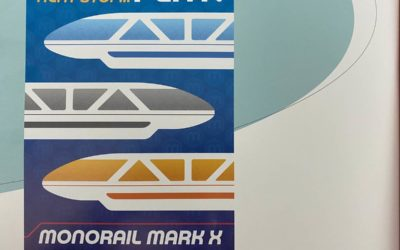 """Disney Teases New Monorail Experience Coming to EPCOT in """"The Disney Monorail"""" Book"""