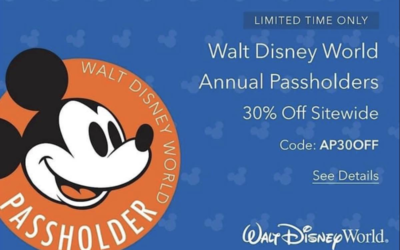 shopDisney Offers 30% Discount to Walt Disney World Annual Passholders