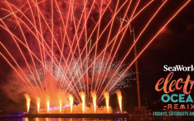 SeaWorld Orlando Expands Electric Ocean Remix Events to Sundays Through September 6th