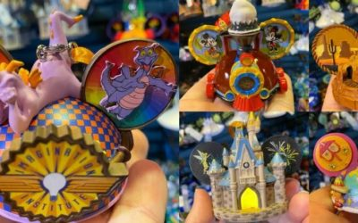 Haul Out The Holly! Hand-Painted Disney Parks Ornaments Arrive at Magic Kingdom