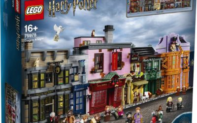 LEGO Announces Impressive Diagon Alley Building Set from the Wizarding World of Harry Potter