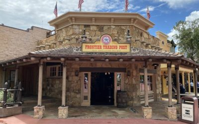 Magic Kingdom's Frontier Trading Post Reopens With Social Distancing Features in Place