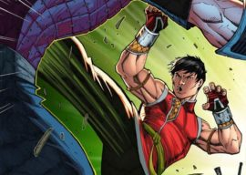 """Marvel Shares Cover for """"Shang-Chi #1"""""""