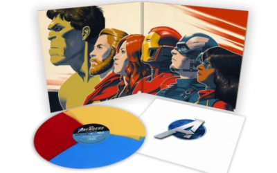 """Marvel's Avengers"" Original Video Game Soundtrack LP Available from Mondo"